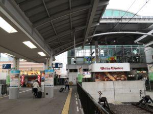 高松駅構内