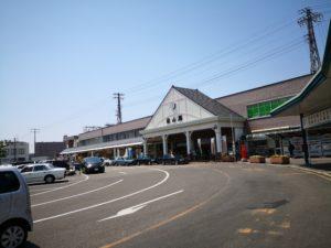 松山駅のロータリー
