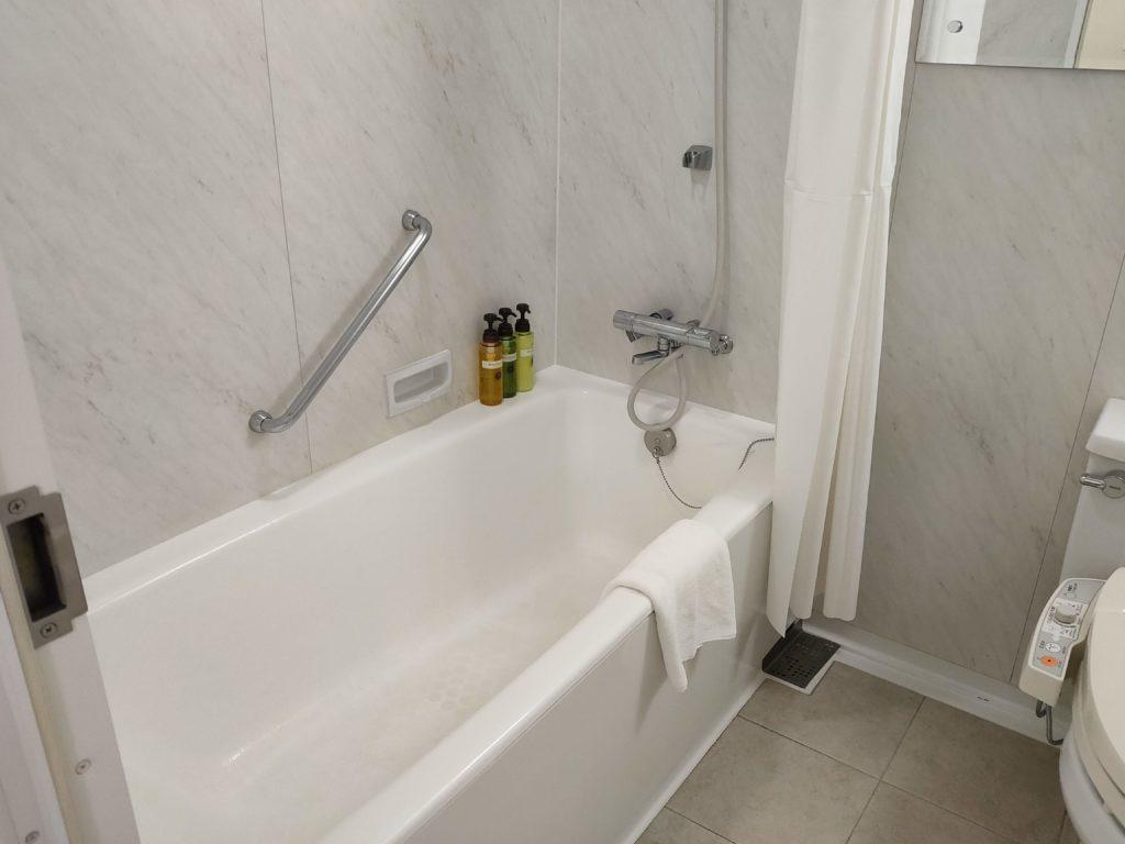オリエンタルホテル東京ベイ 浴槽