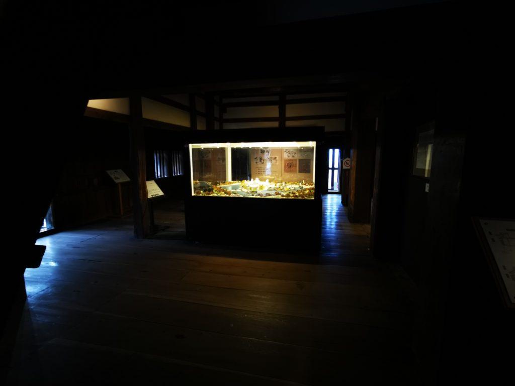丸岡城展示