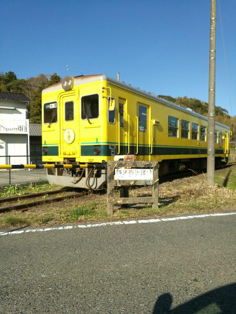 黄色い気動車