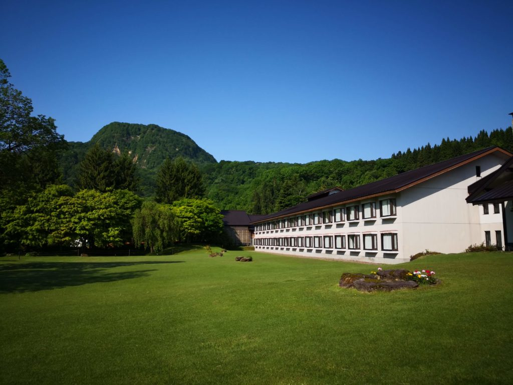 十和田プリンスホテル庭園