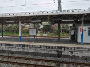 大原駅駅名標