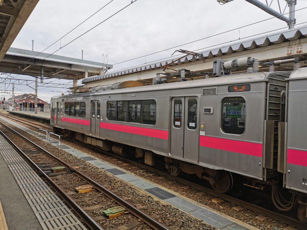 新庄駅ホーム