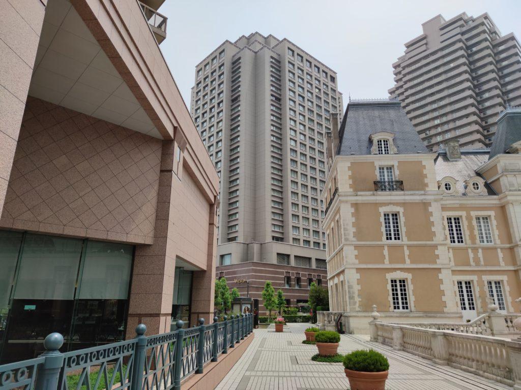 ウエスティンホテル東京外観2