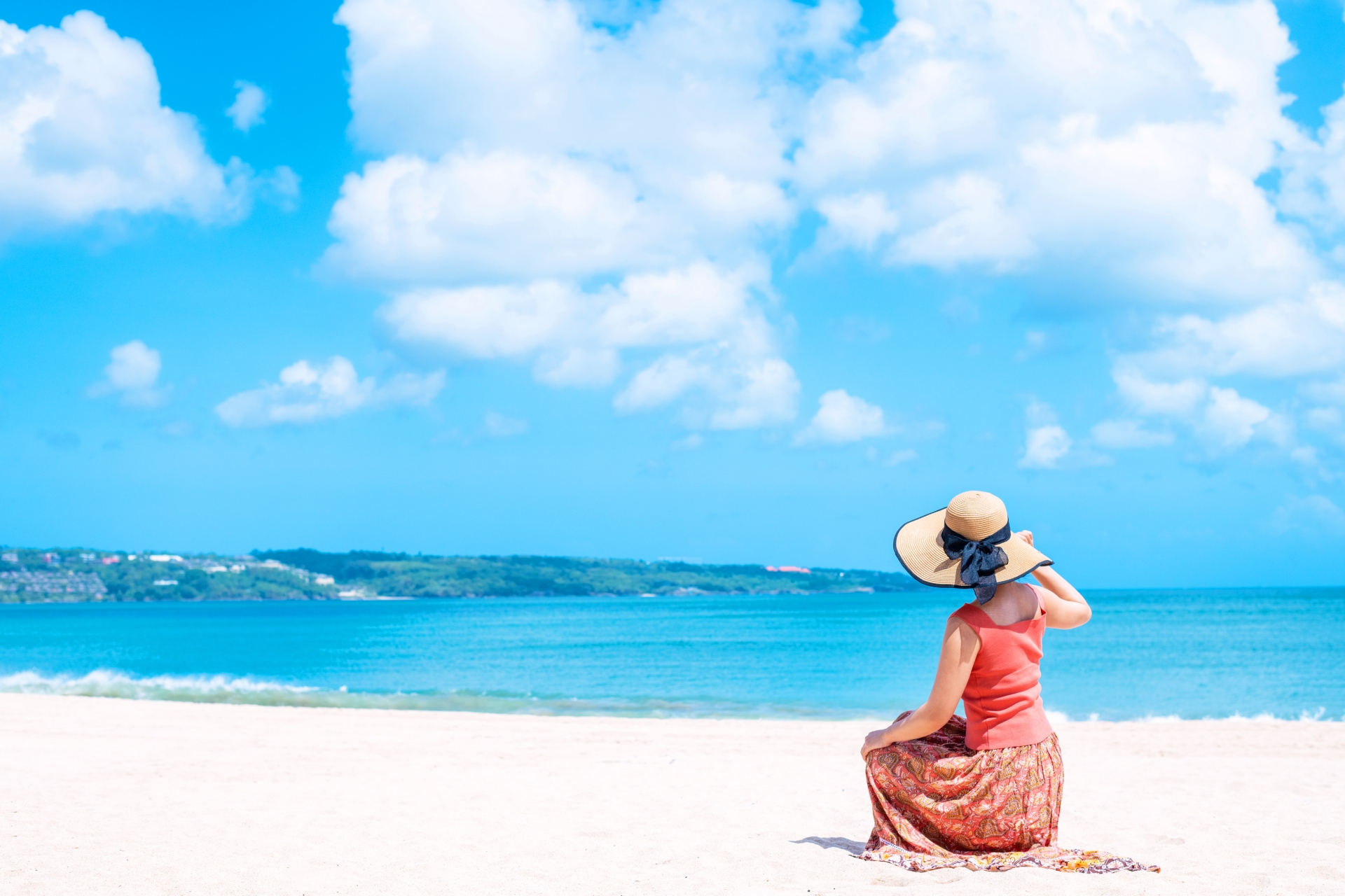 リゾートの海岸