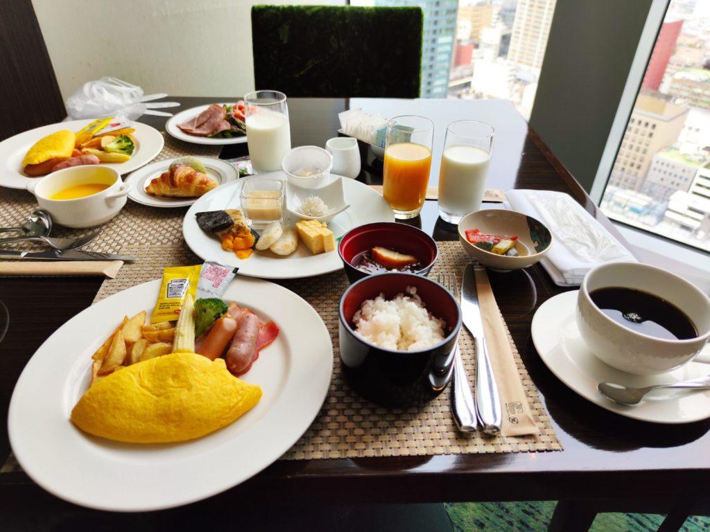 朝食1泊目