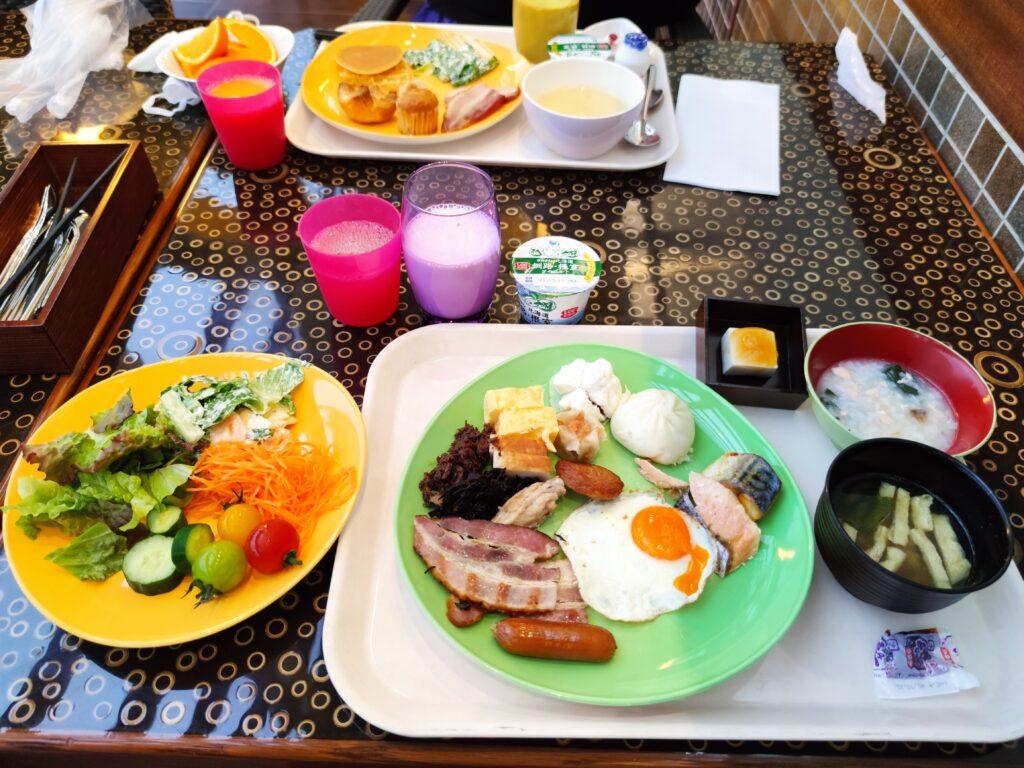 1日目朝食