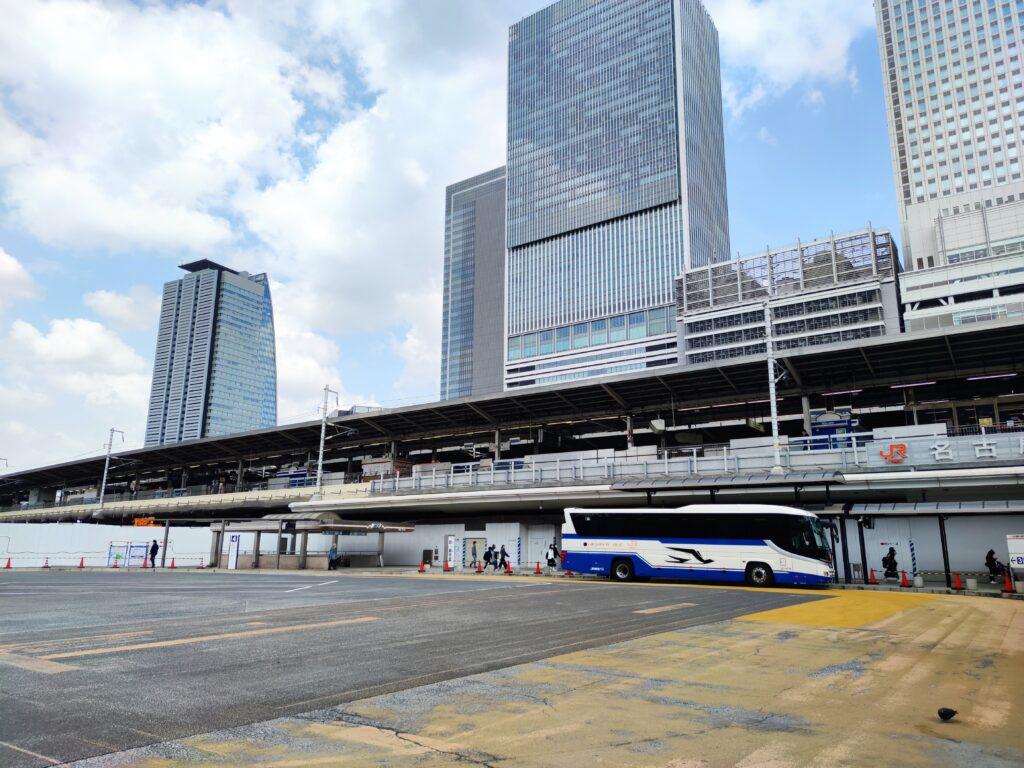 名古屋駅と高速バス
