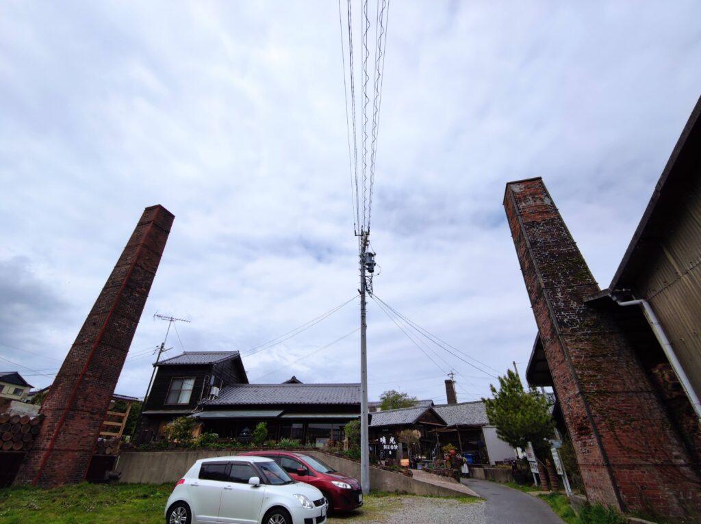 2本の煙突