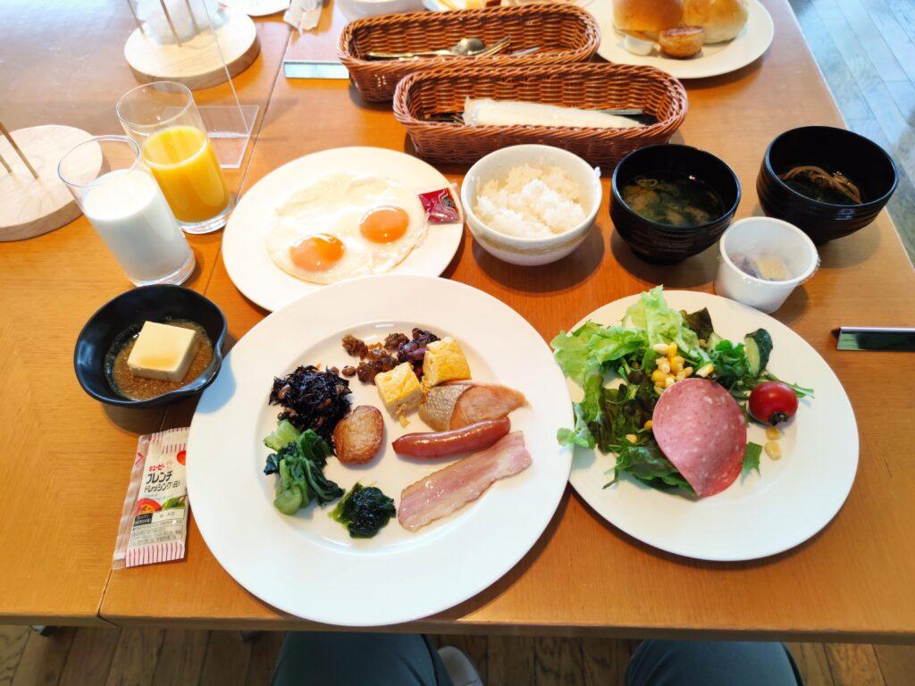 朝食の数々