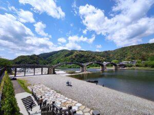 錦帯橋全景