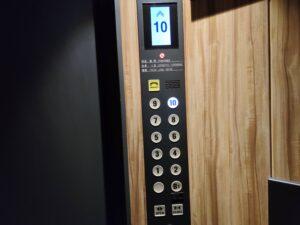 エレベーター階数