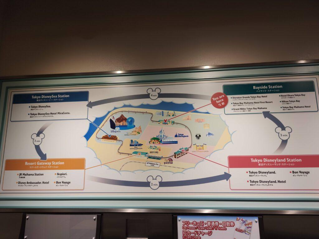 リゾートライン地図