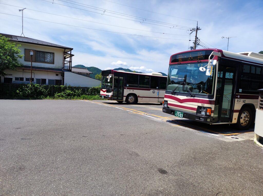 大原バス停