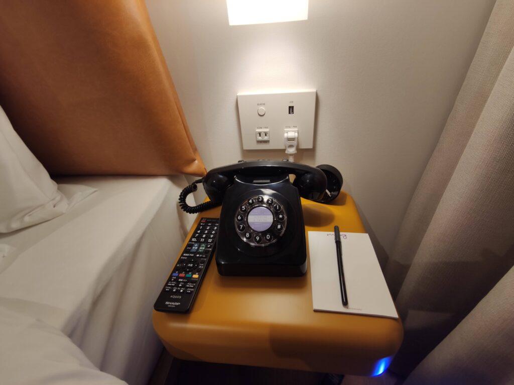 レトロな黒電話