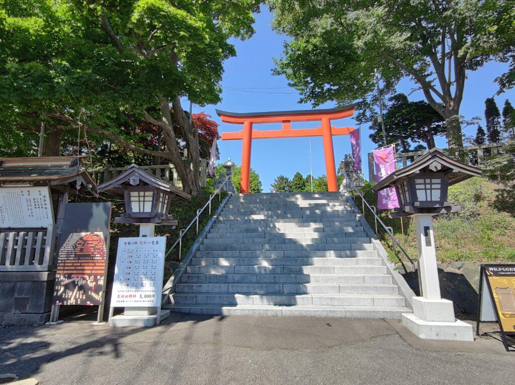 湯倉神社鳥居