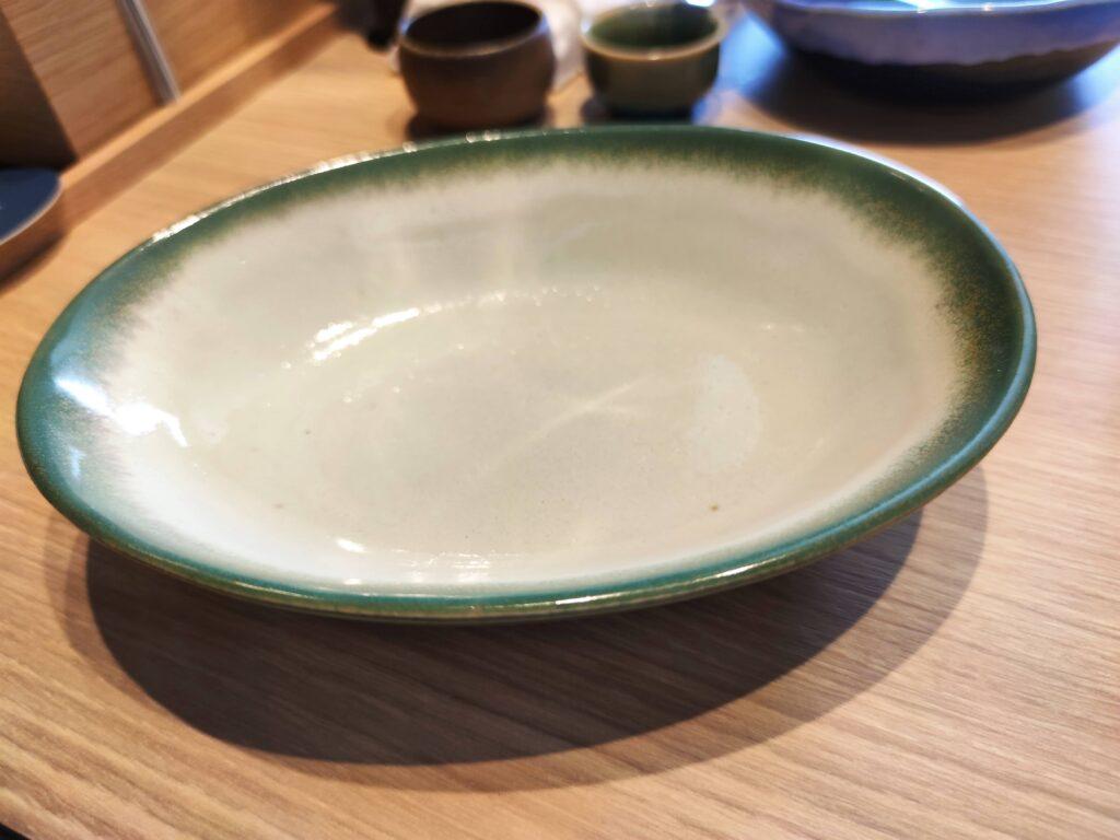 益子焼のお皿