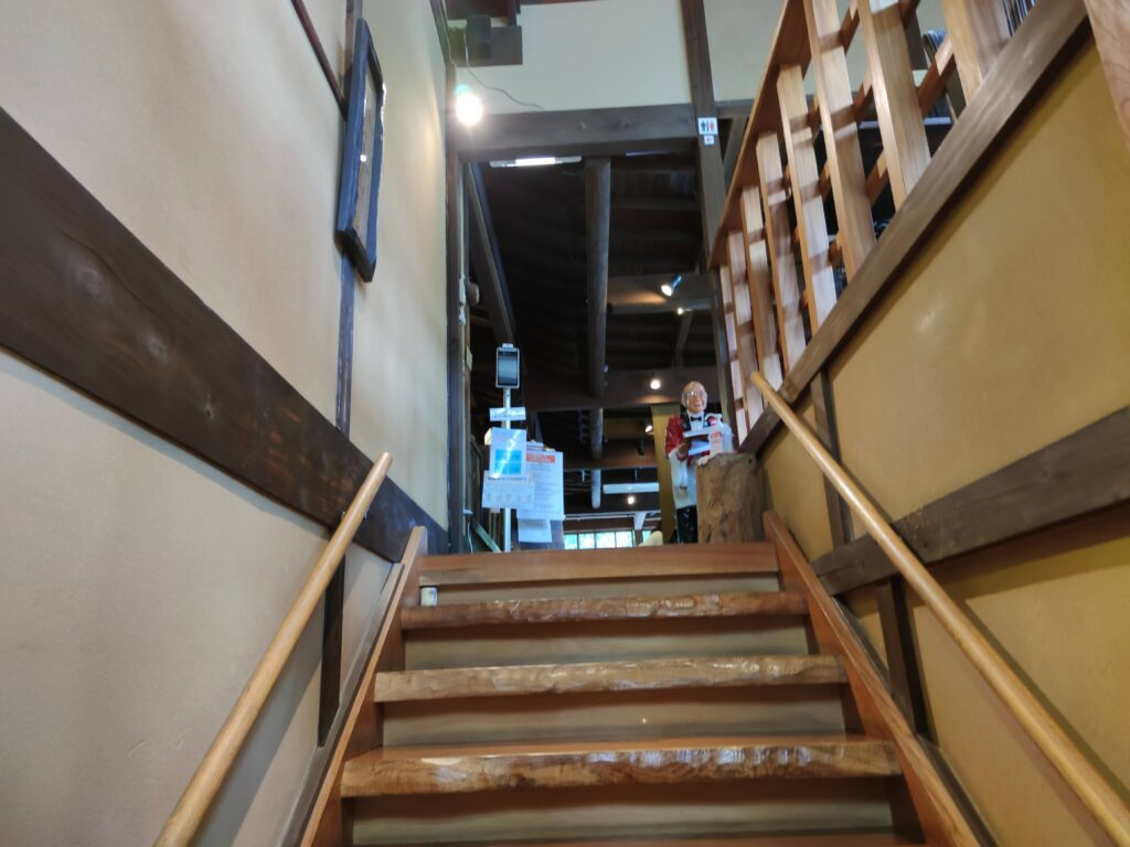 益子の茶屋階段
