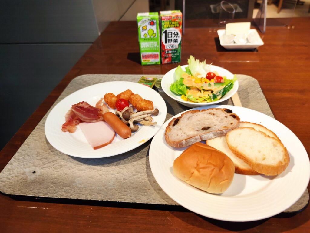 朝食で選んだもの