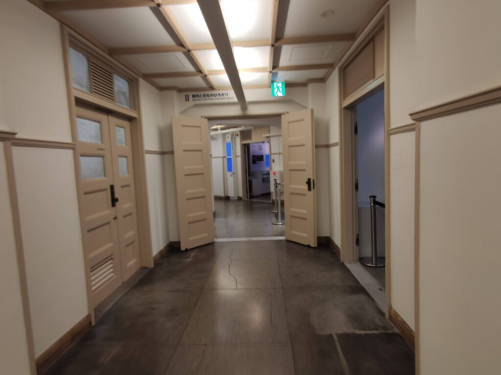 博物館廊下
