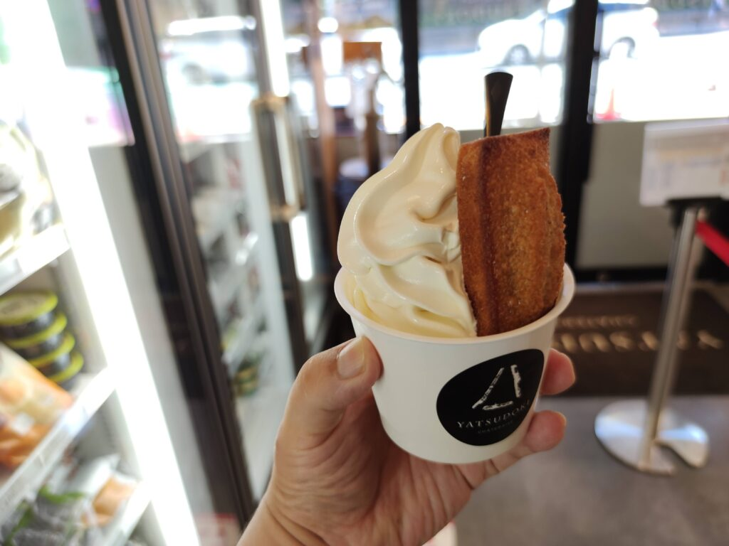 北海道発酵バターソフトクリーム