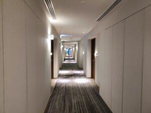 軽井沢マリオットホテル1階廊下