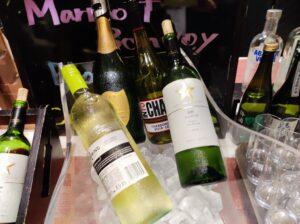 白ワイン&シャンパン