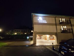 軽井沢マリオットホテル夜